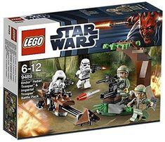 LEGO Star Wars Scout Trooper Speedbike Occhiali 9489