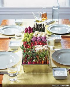veggie tray, re-imagined
