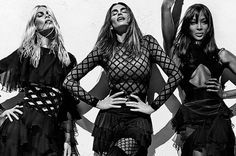 Cindy Crawford, Naomi Campbell and Claudia Schiffer Reunite for Stunning Shoot, Proving They're Still Modelling Queens