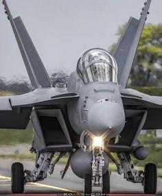 Military Aircraft — A Boeing Super Hornet. Military Jets, Military Aircraft, Fighter Aircraft, Fighter Jets, F18 Hornet, Us Navy Aircraft, Aircraft Photos, Jet Plane, Air Force