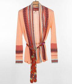 Gimmicks by BKE Striped Cardigan Sweater
