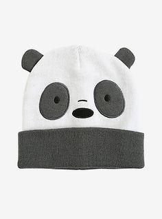 3536925a45d We Bare Bears Panda Bear Cosplay Watchman BeanieWe Bare Bears Panda Bear  Cosplay Watchman Beanie
