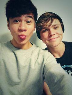 Cal & Ash aww :)