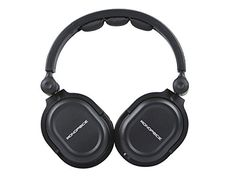Monoprice Hi Fi DJ Style Acoustic Pro Studio Detachable 50 inch Cable Durable Max Comfort High Quality Sound Headphones Works with iPad iPhone Android Devices