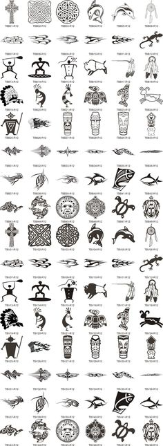Symbols And Their Meanings Native American Indian Symbols