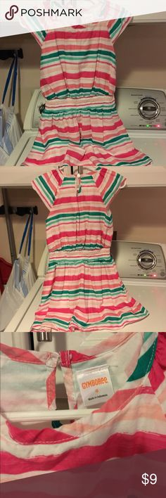 Gymboree colorful striped Summer dress Gymboree girl's dress, size 6 - only worn once! Beautiful colors, love this dress, but my daughter outgrew it! Gymboree Dresses Casual