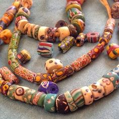 Treasures Found in the Koforidua Bead Market. Koforidua is known for its bead market on Thursdays.  This incredible find is over 800 years old.