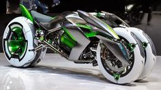 Akira, Tron, I dont care what pop reference you pick. The new Kawasaki J Three Wheeler EV—presented today at the Tokyo Motor Show absolutely insane. And the way you ride this amazing thing is even crazier. Check it out in Sport Mode: - Love Cars & Futuristic Motorcycle, Futuristic Cars, Motorcycle Bike, Steampunk Motorcycle, Motorcycle Workshop, Motorcycle Trailer, Motorcycle Quotes, Motorcycle License, Motorcycle Outfit