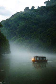 Misty River, Japan