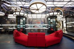 Big Brother Canada house goes 'steampunk' – pictures Big Brother Canada, Big Brother House, 3 Living Rooms, Canada House, Steampunk Theme, Theme Pictures, Picture Photo, Photo Galleries, Sweet Home