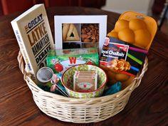 Tea and Challah Purim Basket
