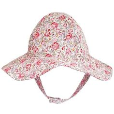 0e47ea512cfb5 Red Roses Floral Printed Sun Hat - Option for Monogramming or  Personalization
