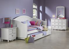 Would love belle to have a white day bed with a trundle