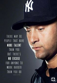 New York Yankees, Go Yankees, Softball Quotes, Sport Quotes, Cool Stuff, Derek Jeter Quotes, Leadership, Sports Mom, Quote Of The Day