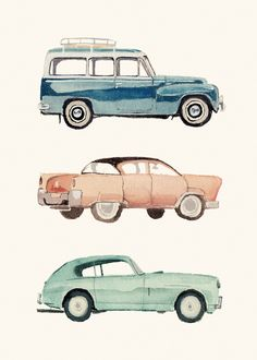 business card cars by Laurie Rollitt