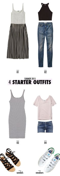 4 Starter Outfits for Summer, That Everyone Should Own