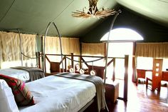 A Twin Tent at Buffalo Luxury Camp. Get Closer. Be Closer. #IntimatePlaces #Luxury #Accommodation #Safari #Serengeti #Ultimatesafariexperience  www.intimate-places.com Exterior Design, Interior And Exterior, Serengeti National Park, Private Games, Relaxing Places, Luxury Camping, African Safari, Sweet Home, Buffalo