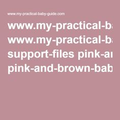 www.my-practical-baby-guide.com support-files pink-and-brown-baby-shower-wishes-for-baby.pdf