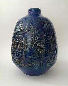 60er Keramik Vase Carstens Atelier Gerda Heuckeroth Vintage West German Pottery  | eBay