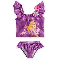 Rapunzel Swimsuit for Girls | Swimwear | Disney Store