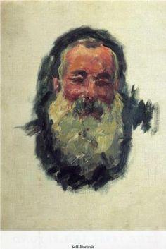 Self Portrait, Claude Monet, 1917