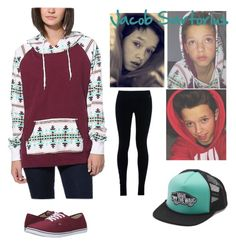 """""""Jacob Sartorius girl version"""" by keishaflores ❤ liked on Polyvore featuring beauty, Vans and NIKE"""
