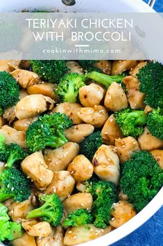 This quick and delicious Spicy Teriyaki Chicken with Broccoli recipe makes the perfect weeknight dinner! This easy recipe comes together in 30 minutes and is packed with veggies protein and flavor! Fresh Broccoli, Broccoli Recipes, Chicken Broccoli, Stir Fry Recipes, Lunch Recipes, Healthy Recipes, Turkey Recipes, Healthy Meals, Dinner Recipes