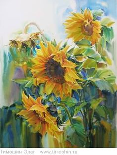 Sunflower Art | Girasoles