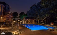 Today we're sharing some of our favorite pool landscape lighting projects - McKay Landscape Lighting Omaha Nebraska
