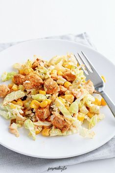 Ketchup, Pasta Salad, Ethnic Recipes, Food, Diet, Crab Pasta Salad, Essen, Meals, Yemek
