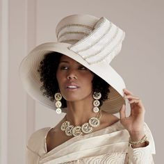 Beverlee Hat from ASHRO | PW29837 - Looks stunning with the Pam Skirt Suit