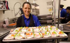 School lunch staff and students enjoy the new school lunch menu created to meet the new standards at the Yorkshire Elementary School in Manassas, VA on Friday, Sept. USDA photo by Lance Cheung. School Lunch Menu, National School, Earn Extra Cash, Money Talks, 5 Ways, Debt, Food Pictures, Yorkshire, Kids Meals