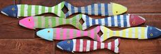 Wooden Fish Nautical Fish Decor - Reclaimed Fish - Reclaimed Picket Fence Fish by CoastalCoveCreations on Etsy https://www.etsy.com/listing/228664291/wooden-fish-nautical-fish-decor