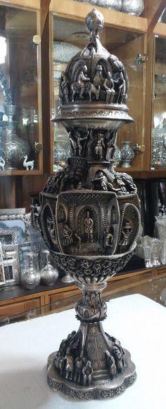 unique metal vases magnificent persian silver vase decorative magnificient silver