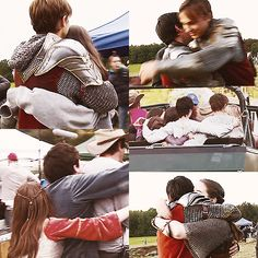 The Chronicles of Narnia: Prince Caspian Behind the Scenes. Hugs... Can you feel the love?