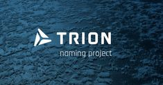 "Product naming ""Trion"" by Davide Bertozzi Studio. #copywriter #naming"