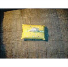 Purse / Pocket Size Tissue Cover - Yellow Dots