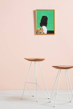 Anthropologie Perch Barstool | Domino