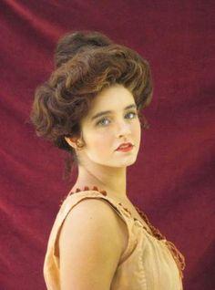 New Vintage Hairstyles Men Gibson Girl Hair 28 Ideas Historical Hairstyles, Edwardian Hairstyles, Vintage Hairstyles, Girl Hairstyles, Steampunk Hairstyles, Victorian Makeup, Victorian Fashion, Victorian Costume, Modern Victorian