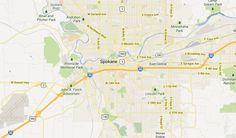 Spokane, WA Neighborhoods Map - Best & Worst Neighborhoods Guide
