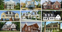 Extensive collection of 32 different types of home architecture styles and designs. Find out what style of home you like best. Also take our poll and see what other people like.