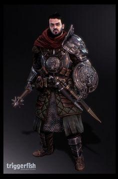 Game Art - Good Character, Sam King on ArtStation at https://www.artstation.com/artwork/3bGem