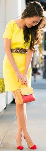 Yellow street style ♥✤ | Keep the Glamour | BeStayBeautiful