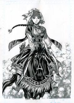 Amir #Manga Bride Stories - L'histoire de ce manga historique se déroule au xixe siècle dans un petit village d'Asie centrale au sud-est de la Mer d'Aral, sur la route de la soie.