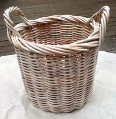 Make An Ordinary Basket Look Shabby French - Mrs. Polly Rogers | Decorate, Make, Create! | Mrs. Polly Rogers | Decorate, Make, Create!