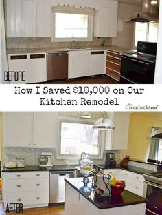 How I Saved $10,000 on Our Kitchen Remodel {And You Can Too!}
