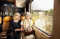 Elderly People Look At Their Younger Reflections In This Beautiful Photo Series By Tom Hussey - People Photos - Ideas of People Photos - Elderly People Look At Their Younger Reflections In This Beautiful Photo Series By Tom Hussey Photography Lighting Techniques, Photography Lighting Setup, Reflection Photography, Light Photography, Creative Photography, Photography Tips, Portrait Photography, People Photography, Photography Composition