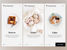 Onboarding - Catering Demand