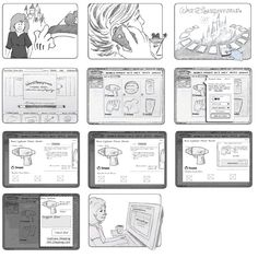 ux storyboards - Google Search. If you're a user experience professional, listen to The UX Blog Podcast on iTunes.