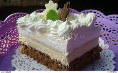 Rezy Caffe Latte Czech Recipes, Russian Recipes, My Favorite Food, Favorite Recipes, Delish Cakes, Cake Recipes, Dessert Recipes, Mini Cheesecakes, Pavlova